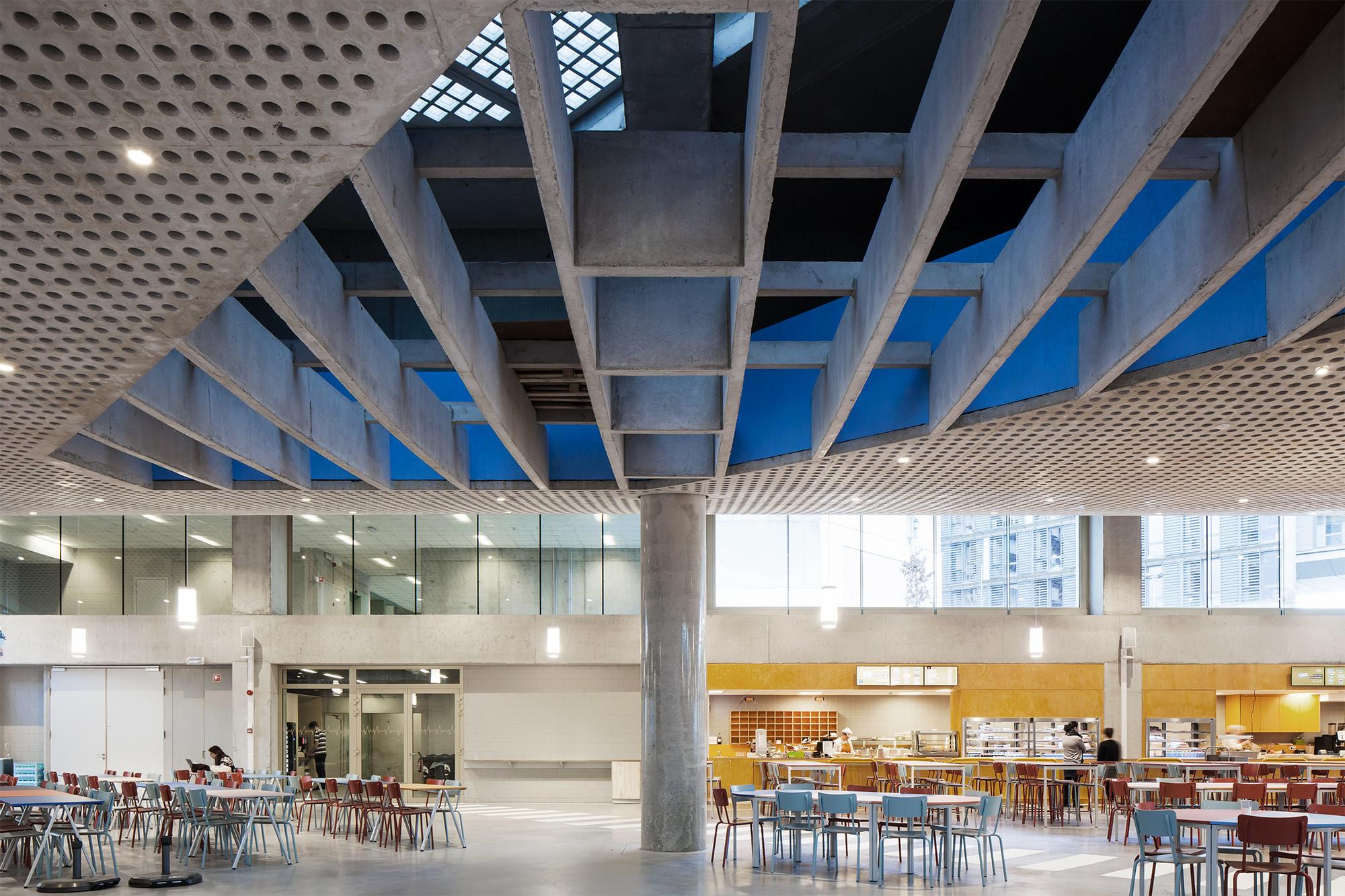 Studentenrestaurant gasthuisberg u architecten gent